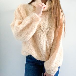 Sweaters - Vintage Cozy Turtleneck Sweater - Size S-L